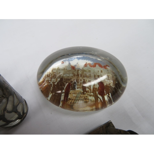 15 - Collection of silver and glassware...