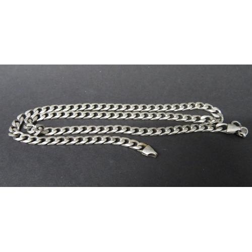 45 - Heavy hallmarked silver 22
