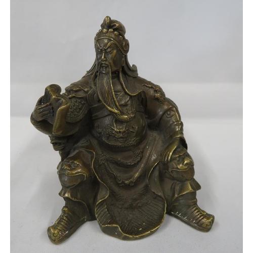 "Bronze Japanese figure 5"" tall"