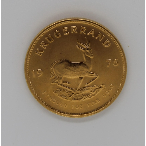 20 - 1976 full 1oz Krugerrand excellent condition...