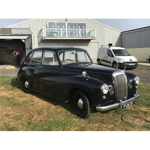 242 - Daimler Conquest Century 1954 rigid body petrol  2433cc  - good condition - fully running with all p...