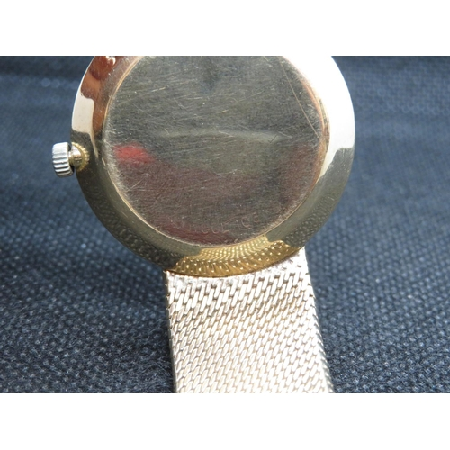 222 - Omega 9ct gold watch and strap mens vintage De Ville automatic watch - fully working 68.34g HM gold ...