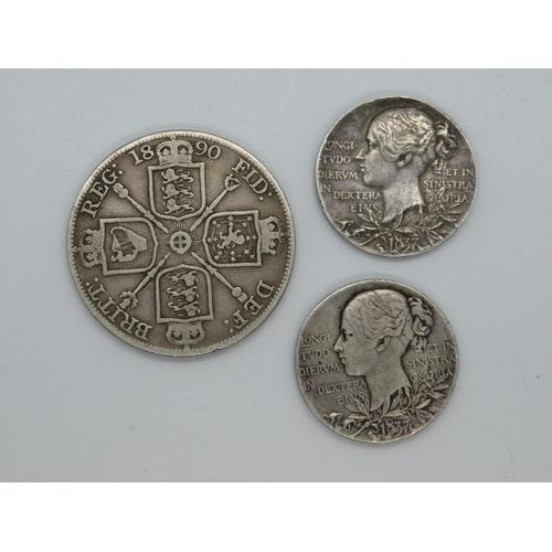 Silver Victorian coins