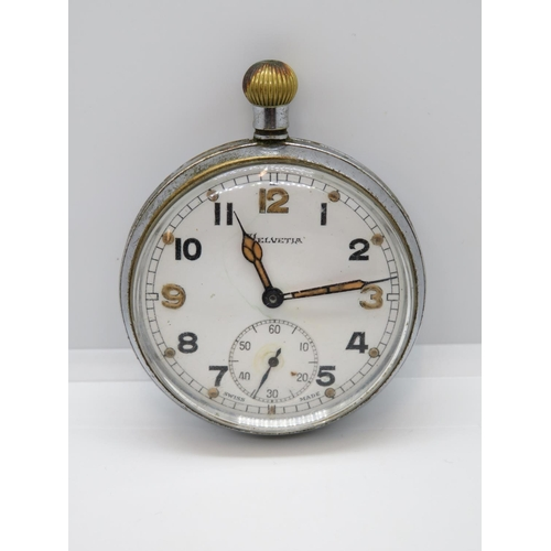 Helvetia Military pocket watch fully working