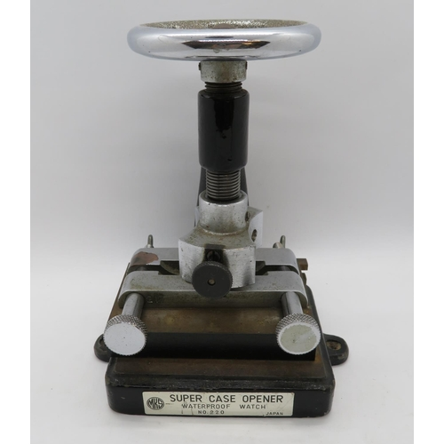 Cast Iron Super Case opener for Waterproof Watch Company, Japan