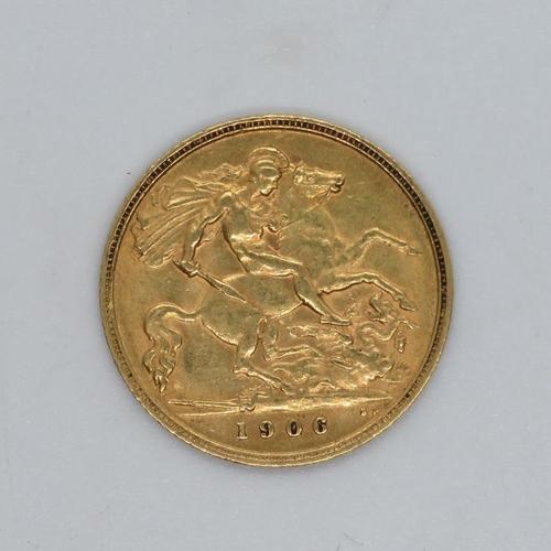 1906 half sovereign