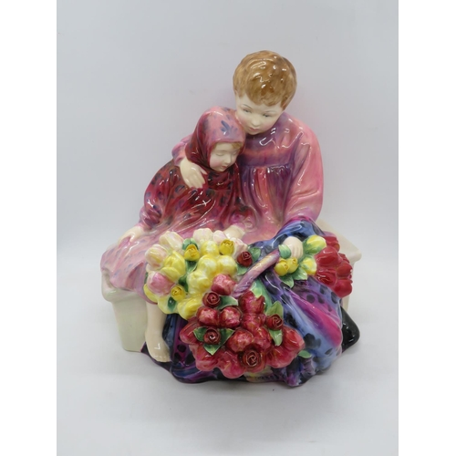 310 - Royal Doulton flower seller's children - perfect condition...
