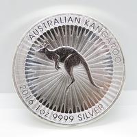 Australian kangaroo 2016 1oz 999 silver $1