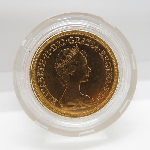 31 - 1974 mint condition blister pack full sovereign