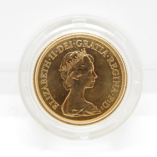 34 - 1979 mint condition blister pack full sovereign