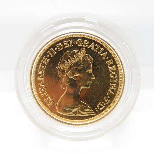 35 - 1980 mint condition blister pack full sovereign