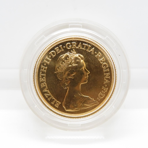 36 - 1981 mint condition blister pack full sovereign
