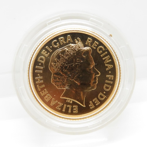 39 - 2001 mint condition blister pack full sovereign