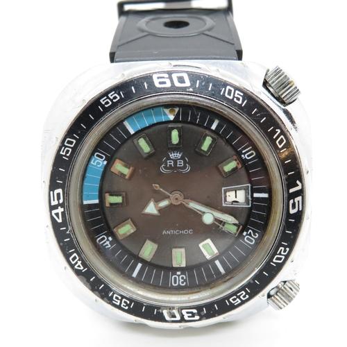 43 - RB Anti-Choc dive watch