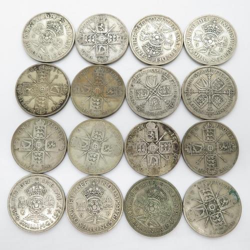 178g British silver coins
