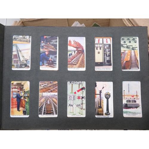 323 - Box of cigarette cards