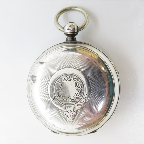 14 - Beautiful verge movement pocket watch with full HM - runs but needs attention