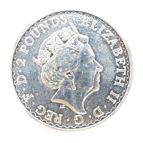 34 - Britannia 2016 1oz 999 fine silver coin
