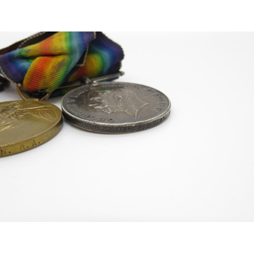 41 - Trio of WWI medals to 88800 DVR F Brown RA