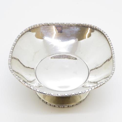 42 - Silver HM bon bon dish 84g