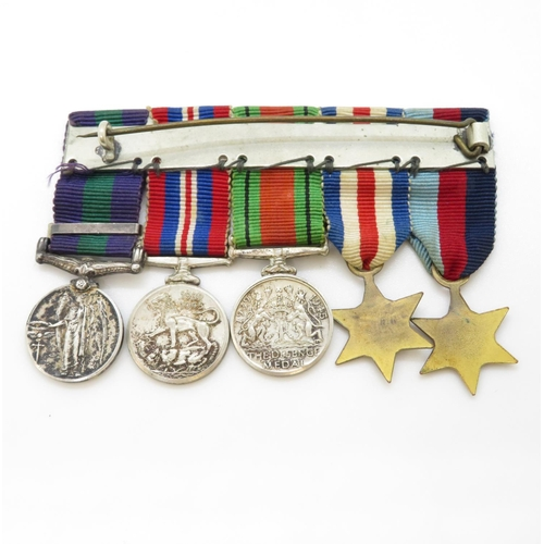 45 - Set of 5x miniature WWI medals