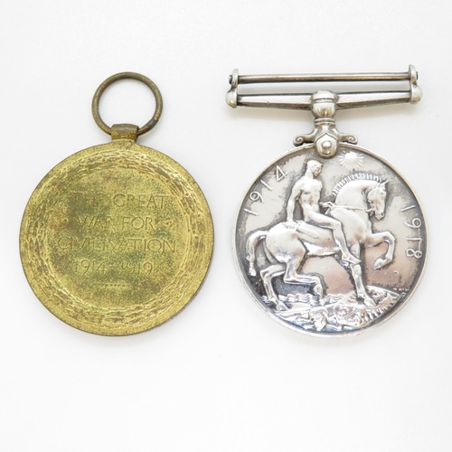 50 - Pair of medals WWI to 2540 SJT A.R. Rashbrook. Liverpool R