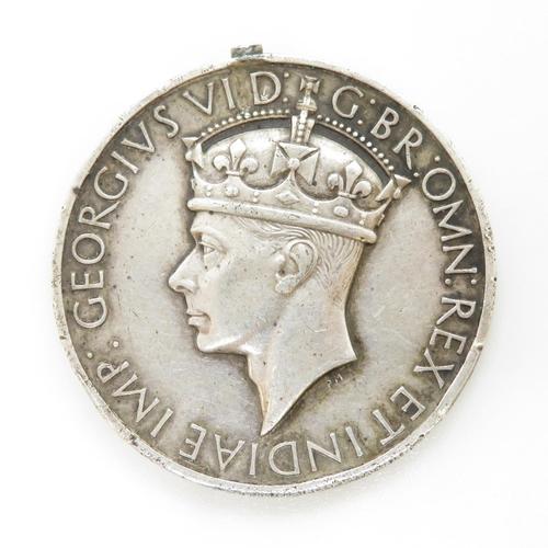 57 - Damaged medal to 11466234 Pte. W. Kitchen RASC