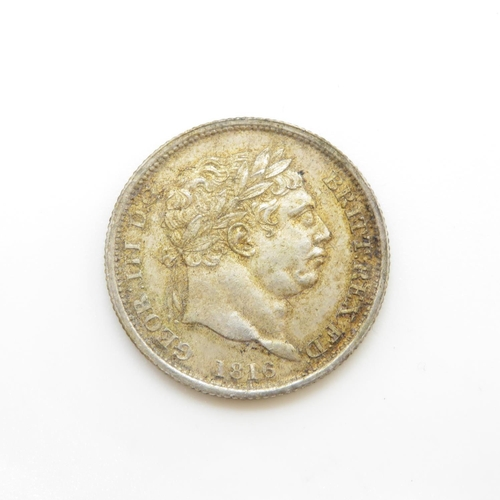 1 - 1816 shilling extremely fine condition