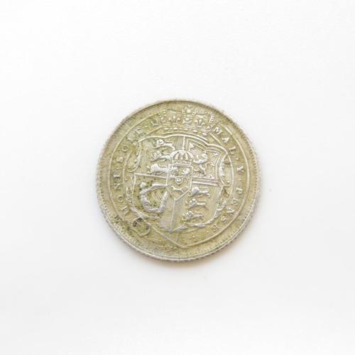 3 - 1816 George III sixpence fine condition