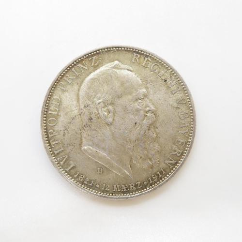 35 - Leopold five marks 1821 - 1911 GF