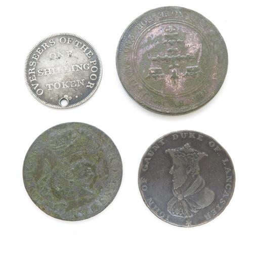 38 - Georgian silver/copper tokens