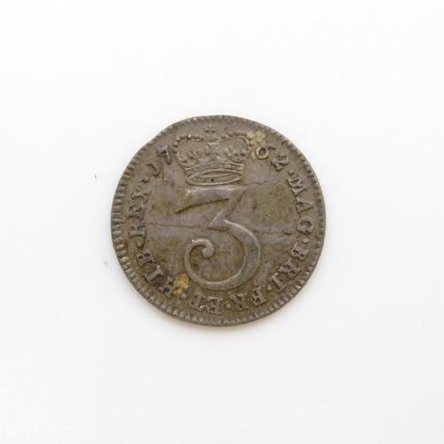 39 - 1762 George III 3D G-F