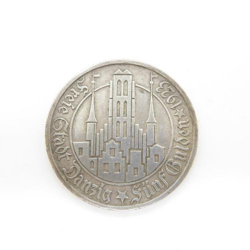 41 - Scarce Danzig 1923 5Gulden
