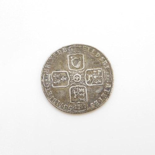 5 - George II sixpence 1758 fine condition