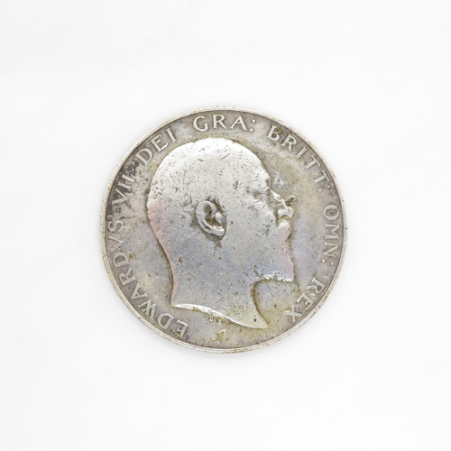 7 - Rare 1905 half crown in fine condition