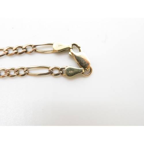 22 - 9ct gold HM necklace 9.2g