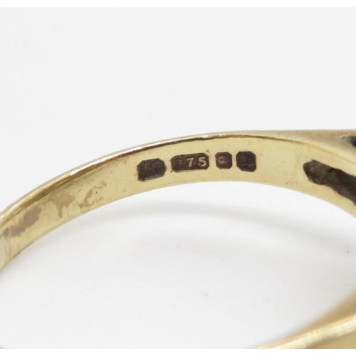 39 - 9ct gold ring 2.7g size M