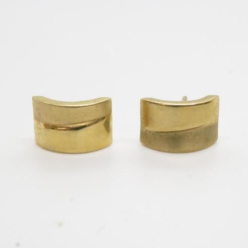 40 - 9ct gold earrings 1g