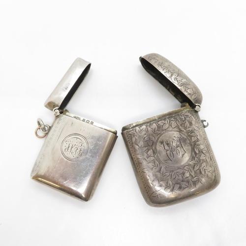 47 - Collection of 2x silver vestas 66g