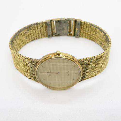 53 - GP Omega Deville Gents wristwatch quartz