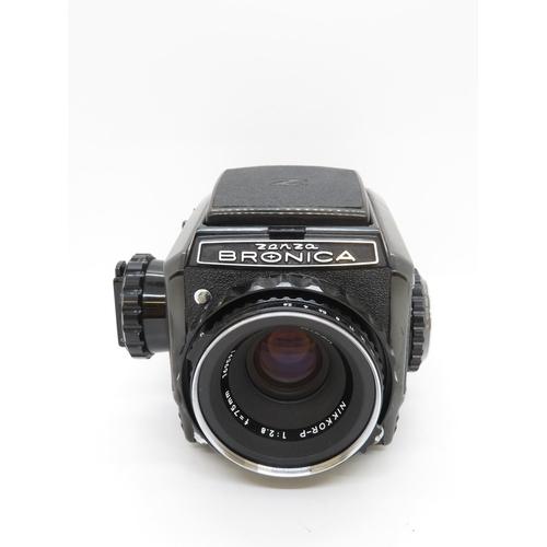 209 - Zenza Bronica 6x6 camera fully working