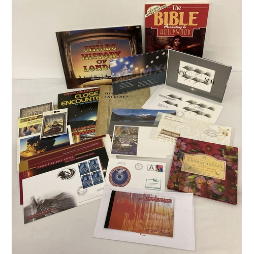 1156 - A quantity of assorted ephemera to include first day covers and commemorative stamp sets. Lot includ...