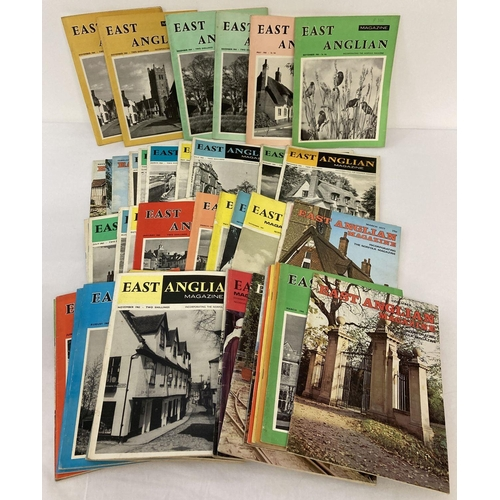 1131 - 45 assorted issues of East Anglian Magazine dating from 1962 through to 1977.