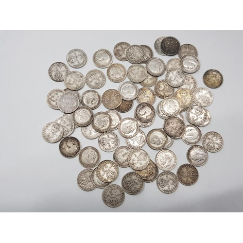 200 - 70 SILVER COINS 3DS PRE 1920