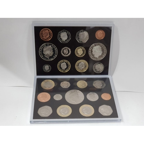 202 - 2 ROYAL MINT PROOF YEAR SETS INCLUDES 2005 12 COIN NELSON SET TOGETHER WITH 2006 BRUNEL SET 13 COINS...