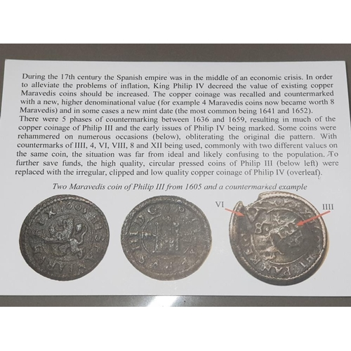 44 - 6 OLD COIN COLLECTION INCLUDING COBS, SILVER COINAGE ETC...
