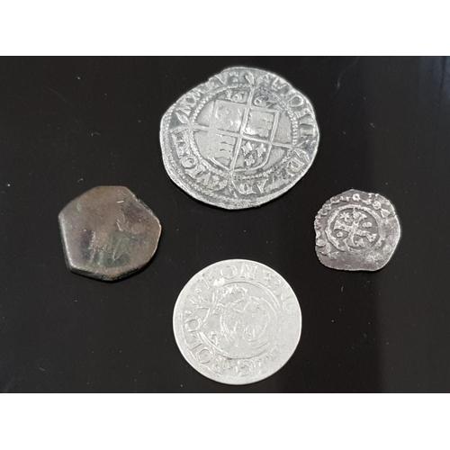 49 - 4 OLD COINS MAINLY HAMMERED 1567 ELIZABETH 1
