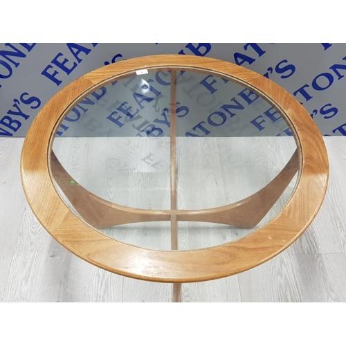 4 - G PLAN CIRCULAR SOFA TABLE 45 X 83 CM