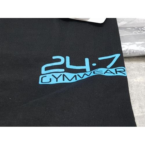 28 - 10 24/7 gymwear gym tops all as new