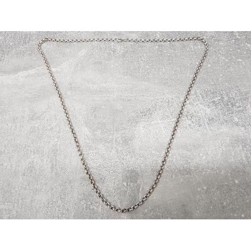 Gents Silver Belcher chain, 52g